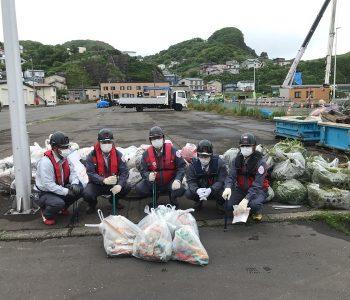 【SDGs 漁港清掃活動 追直漁港】2021年6月16日